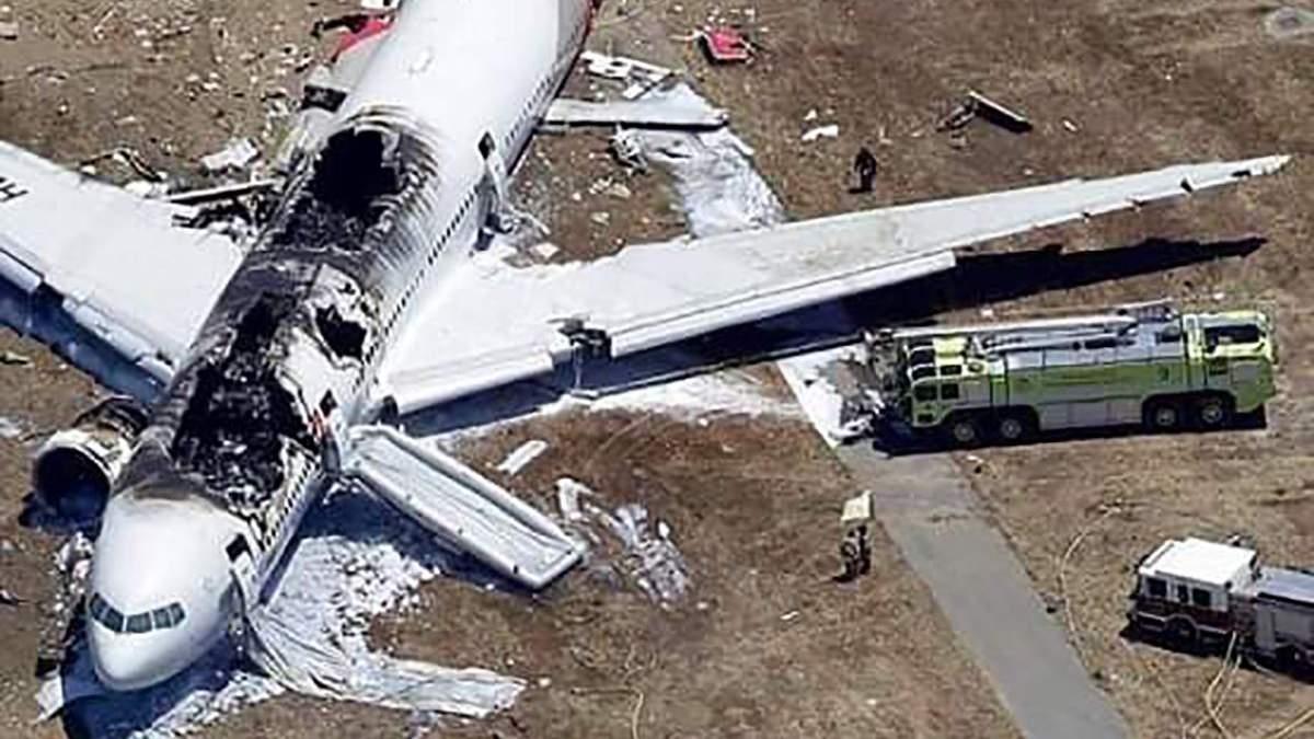 Украинцев не было в самолете, разбившемся в Эфиопии