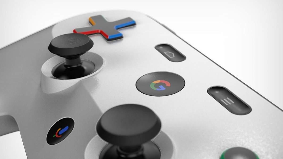 Концепт контролера для Google  Project Stream