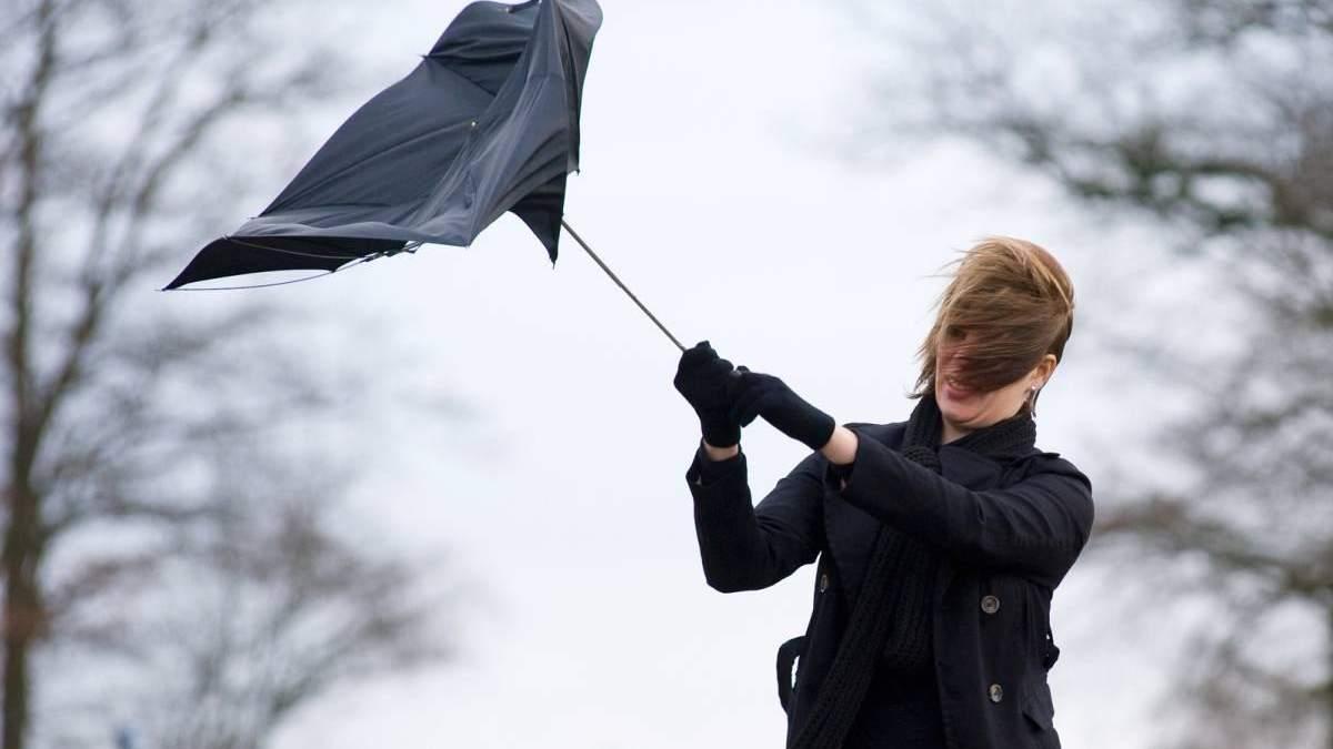 В Україні оголосили штормове попередження через сильний вітер