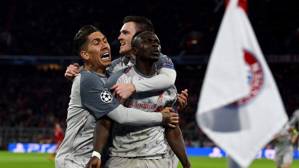 Бавария – Ливерпуль: видео голов, обзор матча Лига чемпионов 2018/2019