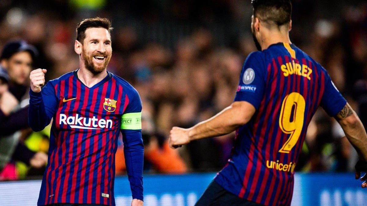 Барселона - Ліон: відео голів, огляд матчу Ліга чемпіонів 2018/2019