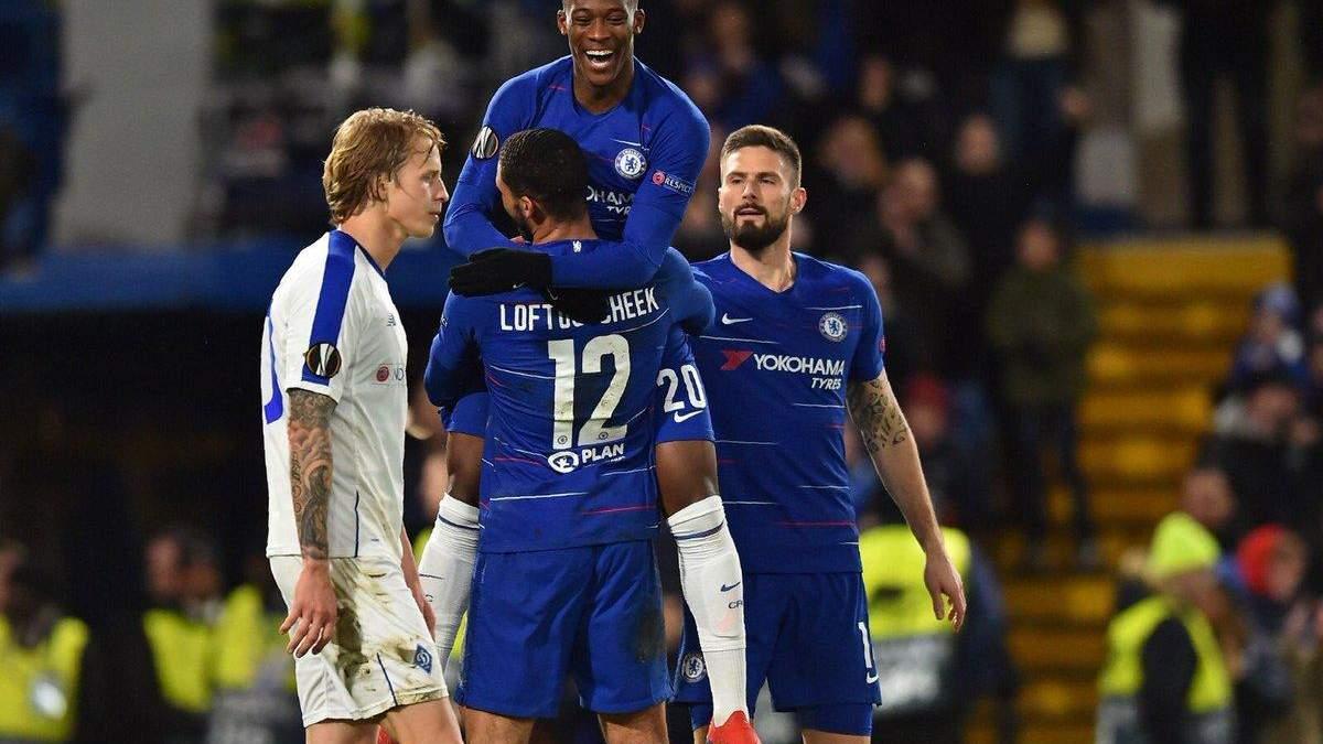 Динамо - Челсі: прогноз, ставки на матч Ліга Європи 2018/19