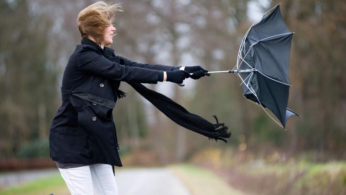 Як діяти під час сильного вітру: основні правила