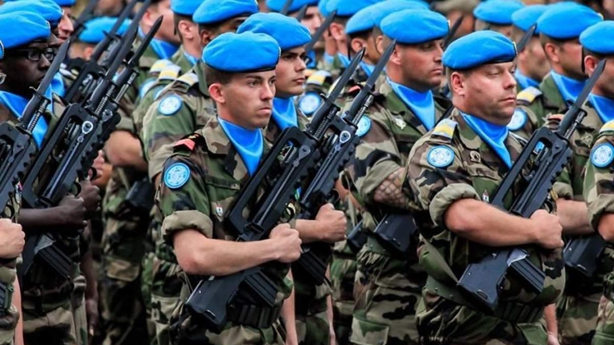 Миротворцы на Донбассе должны обеспечить выполнение Минских соглашений