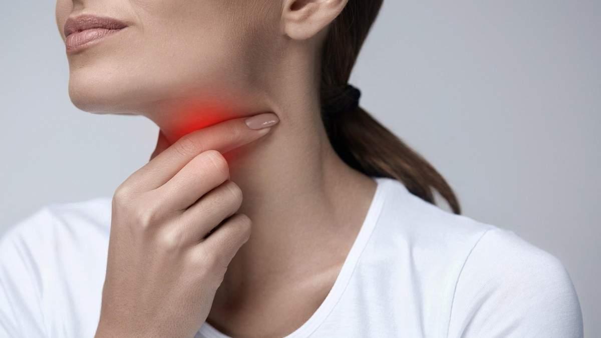Що робити, якщо болить горло – перша допомога