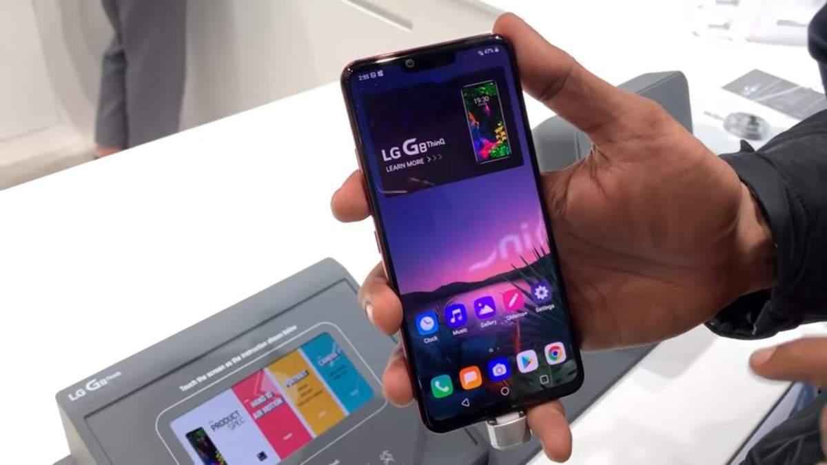 LG G8 ThinQ: дата выхода и цена