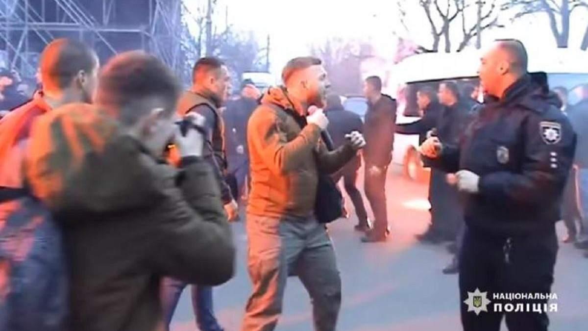 """Нацкорпус"" атакує поліцію в Черкасах"