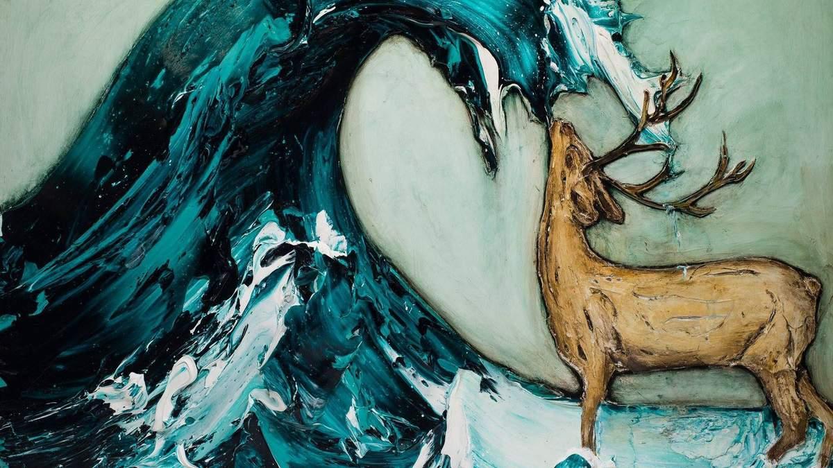 Абсурд Дали и красота Ван Гога: сочные картины американского художника-самоучки