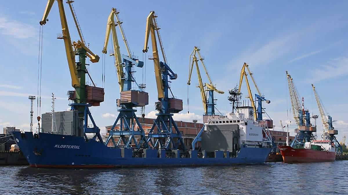 Мариупольский порт несет безумные потери из-за Крымского моста