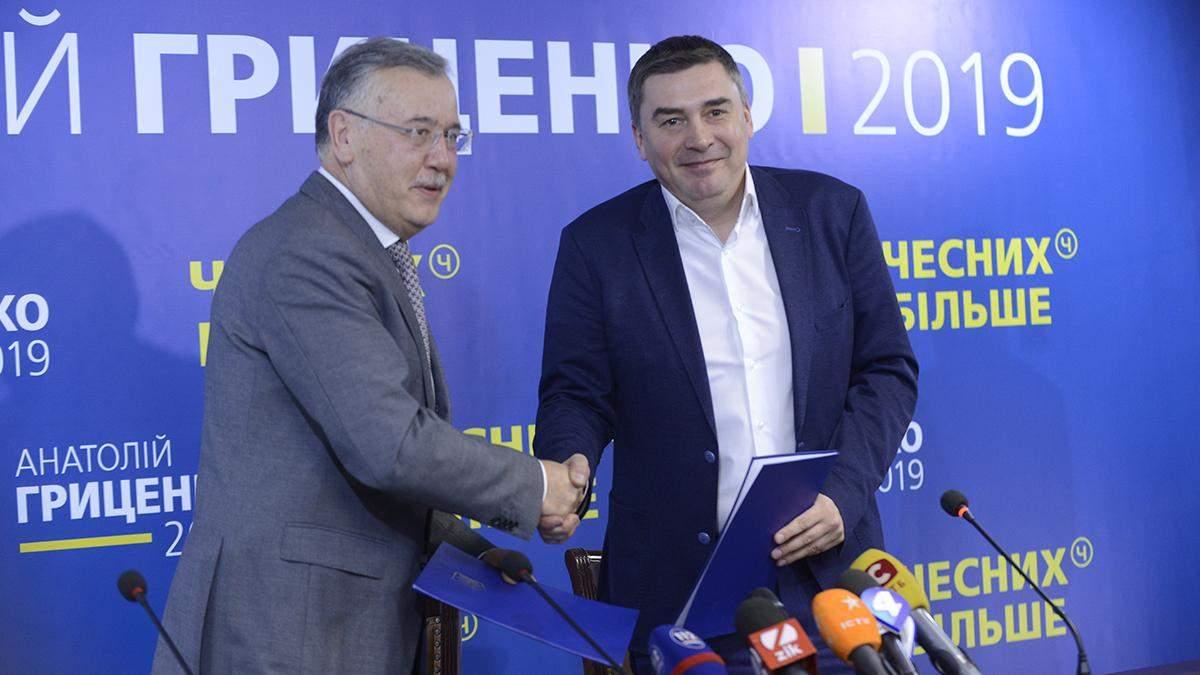 Гриценко та Добродомов підписали меморандум