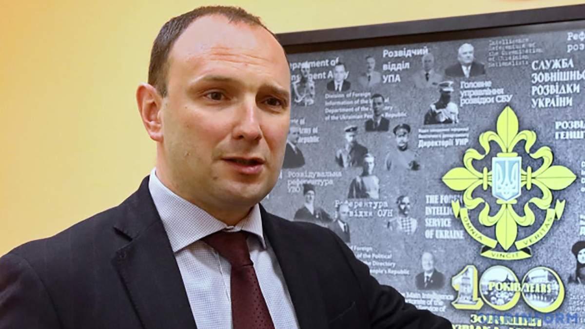 Єгор Божок, звільнений президентом з поста керівника розвідки