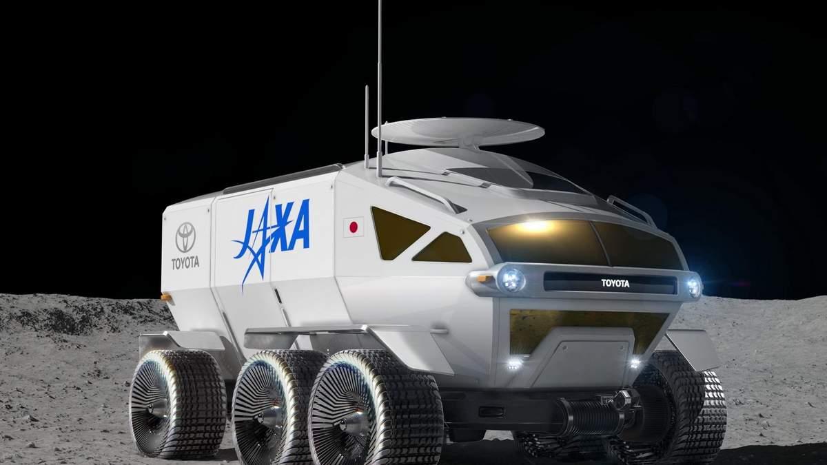 У Toyota будують автомобіль для Місяця