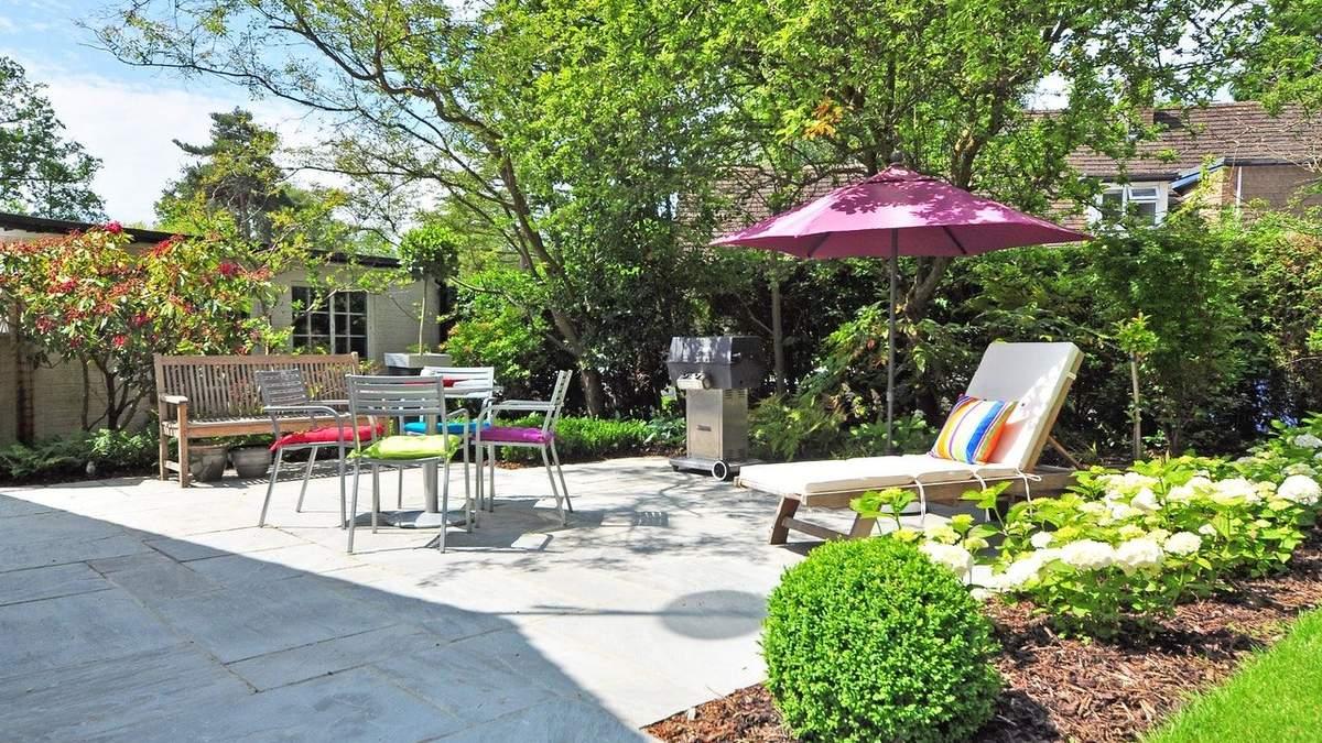 Як облаштувати зону відпочинку на дачі в саду - місце для релаксу