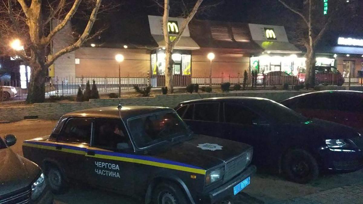 В Николаеве произошла стрельба на McDrive: есть пострадавший