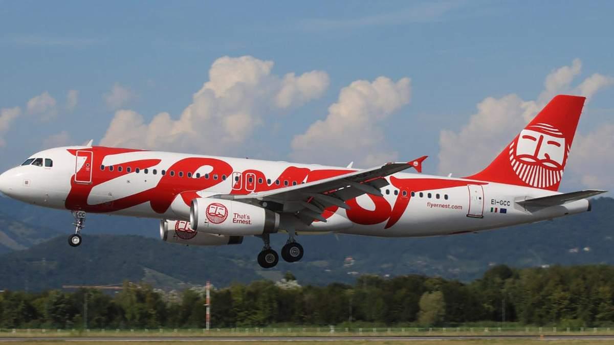 Ernest Airlines летітиме з Києва до Генуї