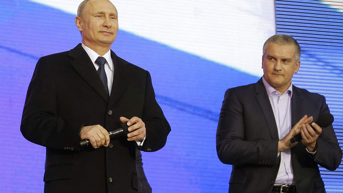 Аксенов рассказал, что аннексией Крыма руководил лично Путин