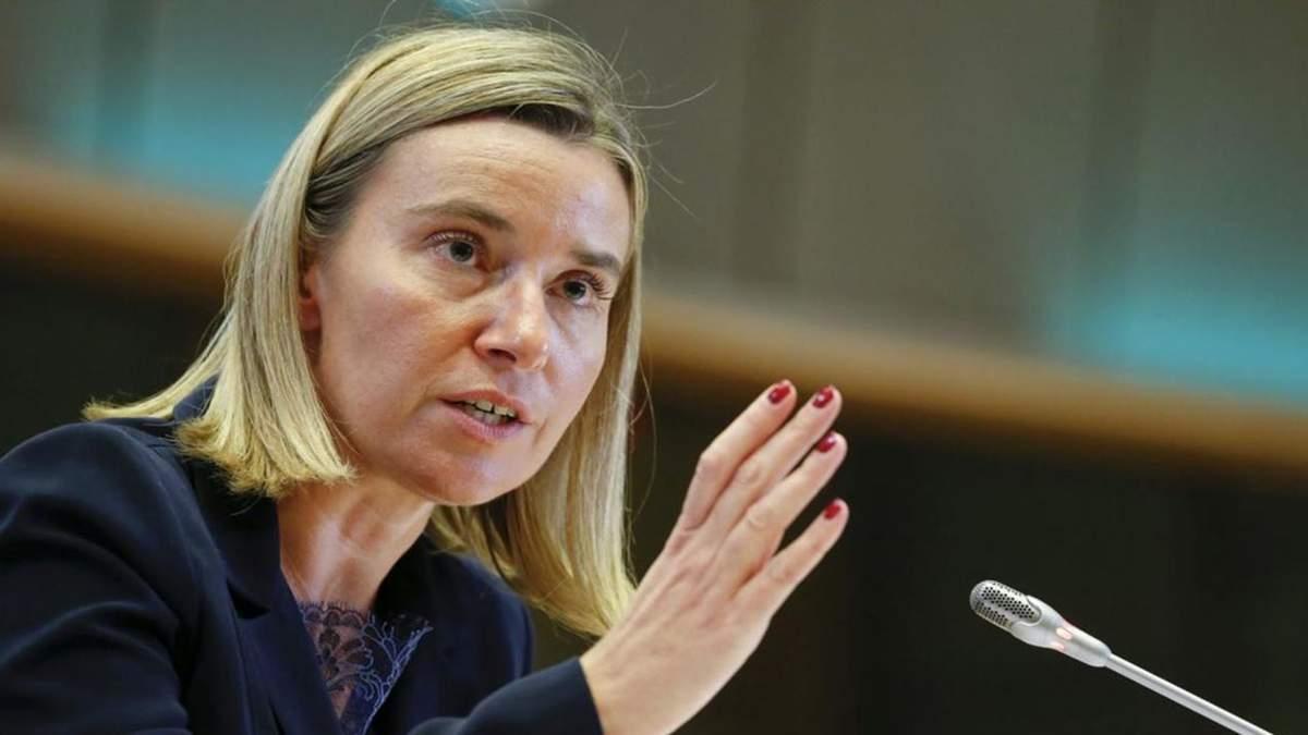 Федерика Могерини, верховный представитель ЕС по иностранным делам
