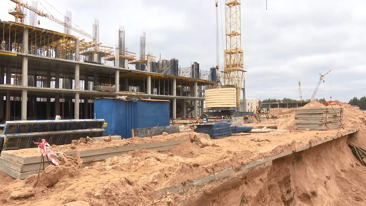 """""""Энергоатом"""" выполнил 70 % работ по строительству централизованного хранилища"""
