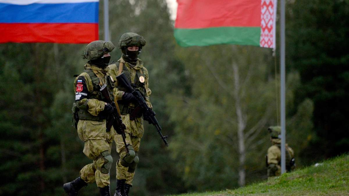 Військові Росії та Білорусі організували масштабне тренування