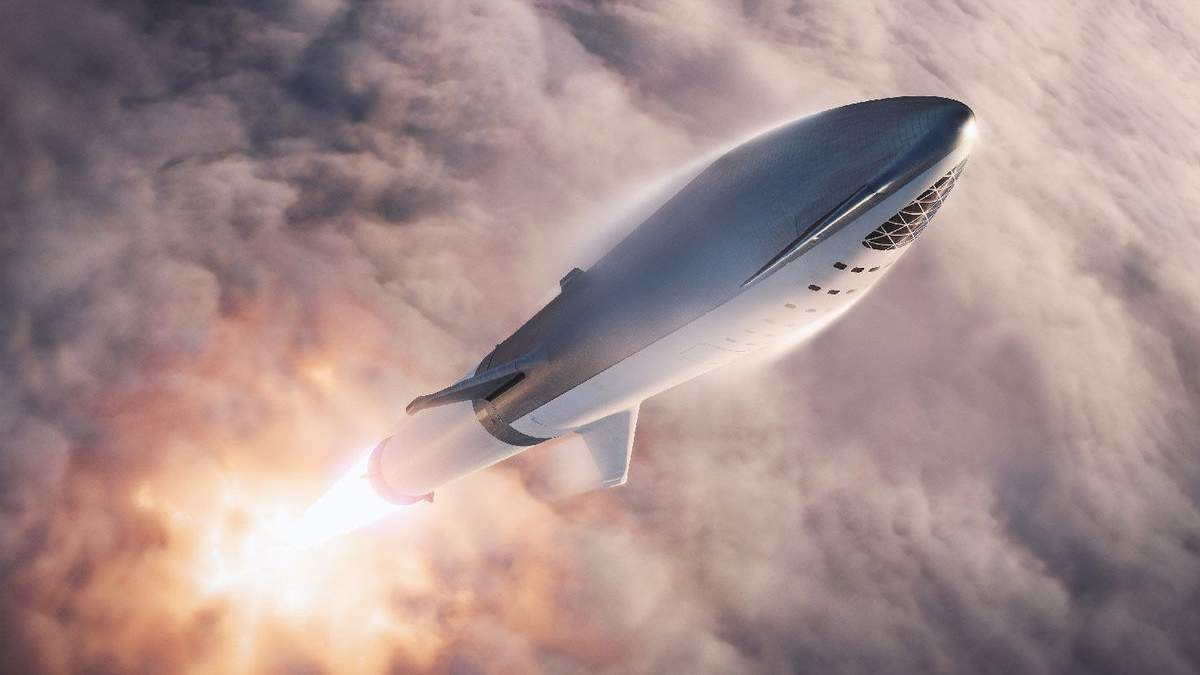 Прототип SpaceX Starship