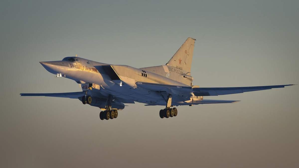 Російські Ту-22М3М розмістили в окупованому Криму