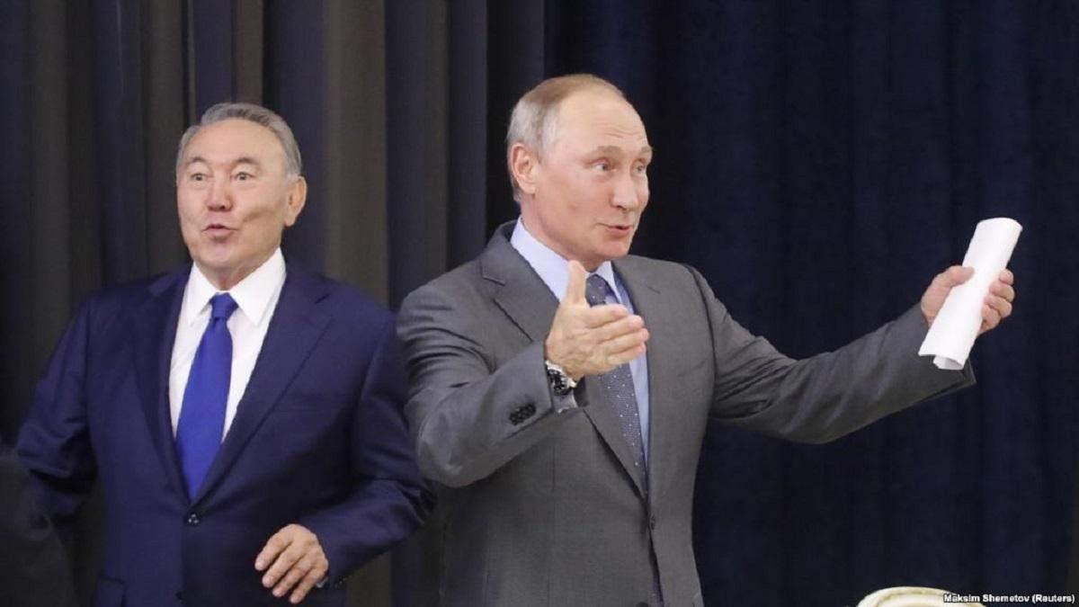 Як в Росії відреагували на відставку Назарбаєва