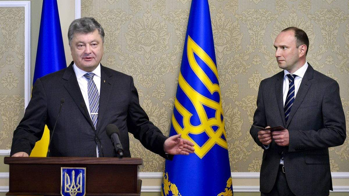 Петро Порошенко звільнив Єгора Божка – і одразу призначив