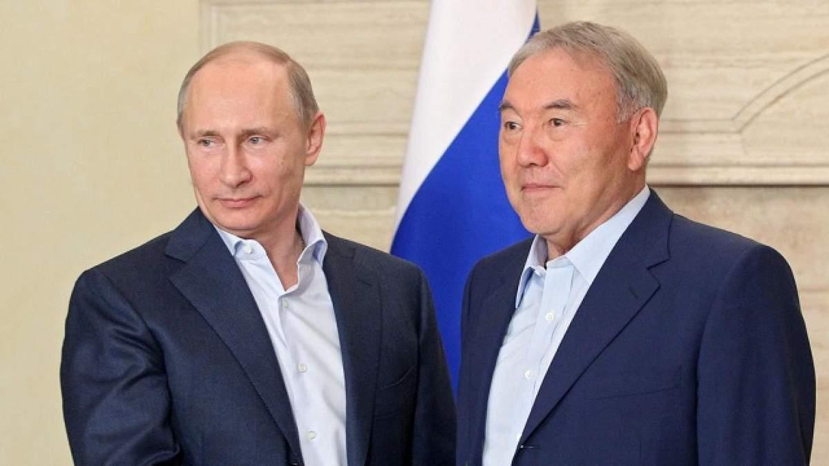Назарбаєв перед відставкою провів консультації з Путіним