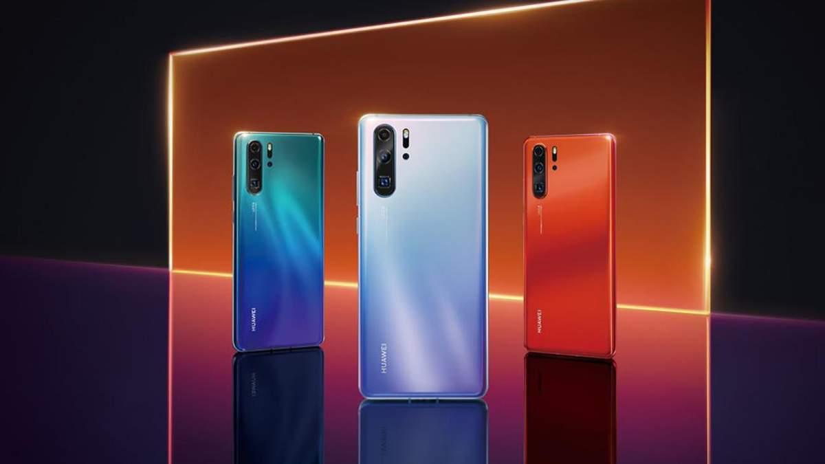 Офіційні фото Huawei P30 Pro