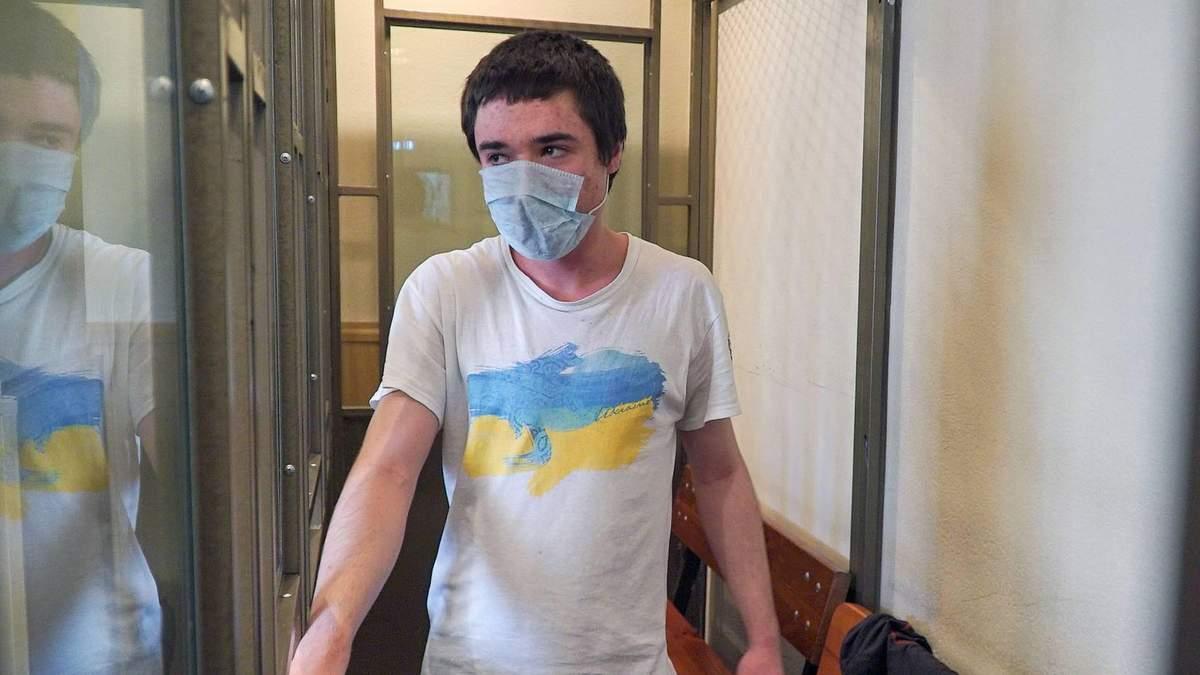 Политзаключенного Павла Гриба приговорили в России к 6 годам тюрьмы