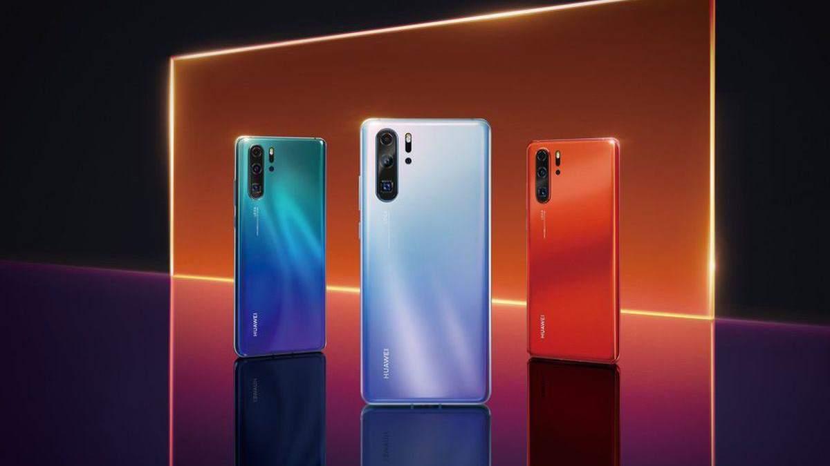 Huawei P30: характеристики