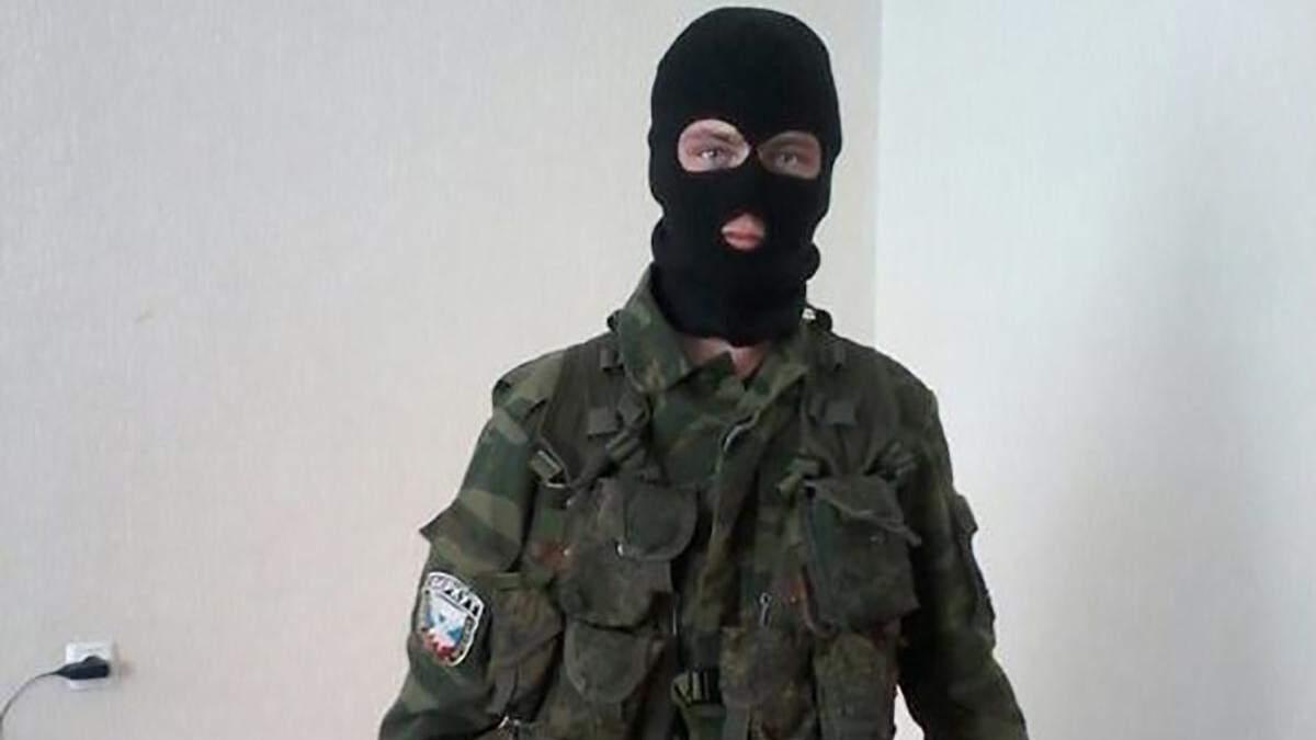 СБУ показала фото пойманного боевика, который воевал против Украины
