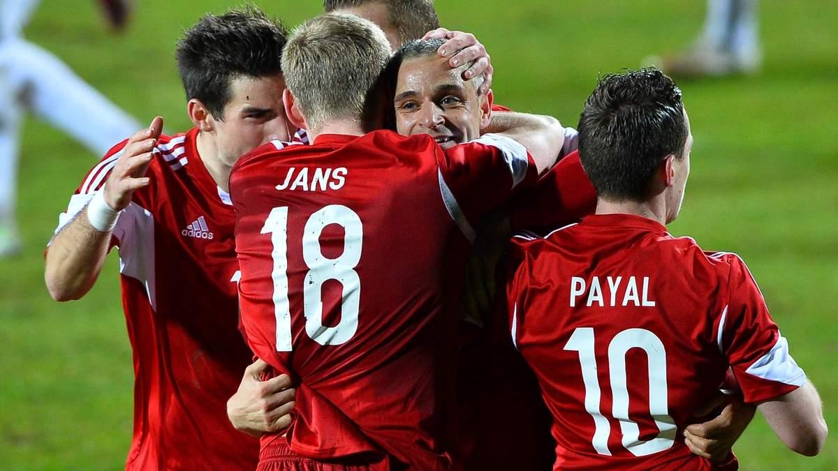 Бавария люксембург футбол