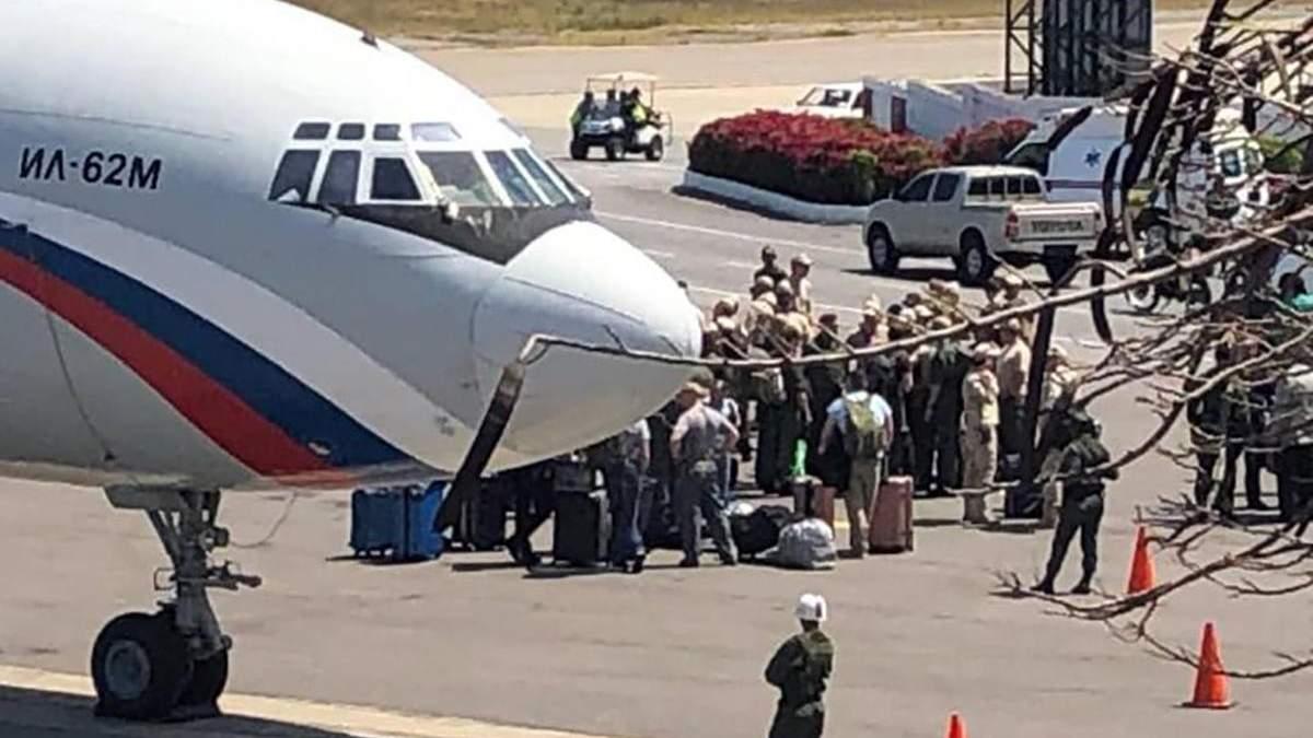 До Венесуели вже вдруге прилетіли російські найманці, які до того прибували для охорони диктатора Мадуро