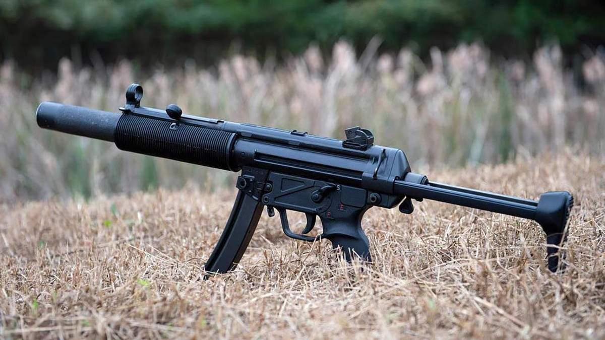 Нацполиция заменит автоматы Калашникова на немецкие пистолеты-пулеметы: фото