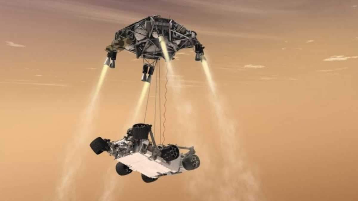 NASA протестовало марсоход