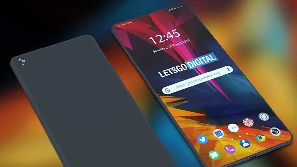 Концепт нового смартфона от Sharp