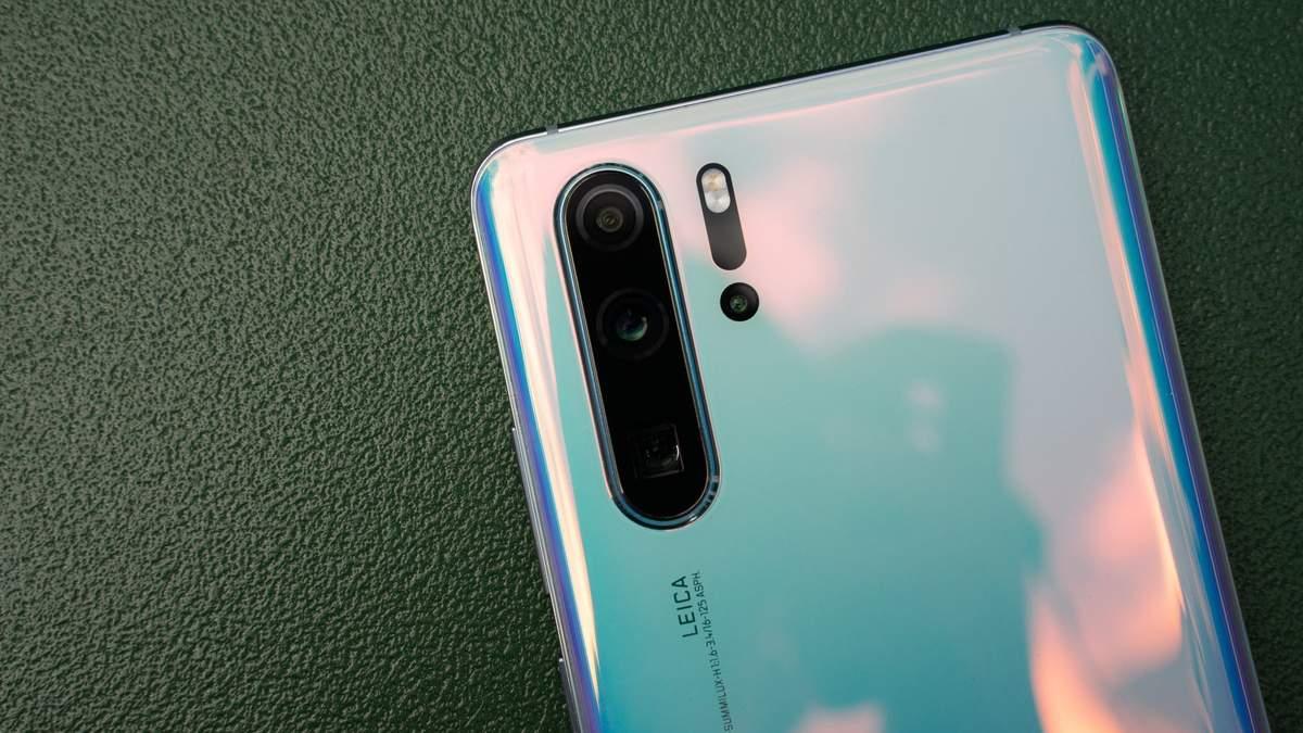 Huawei P30 Pro  получила лучшую камеру на рынке