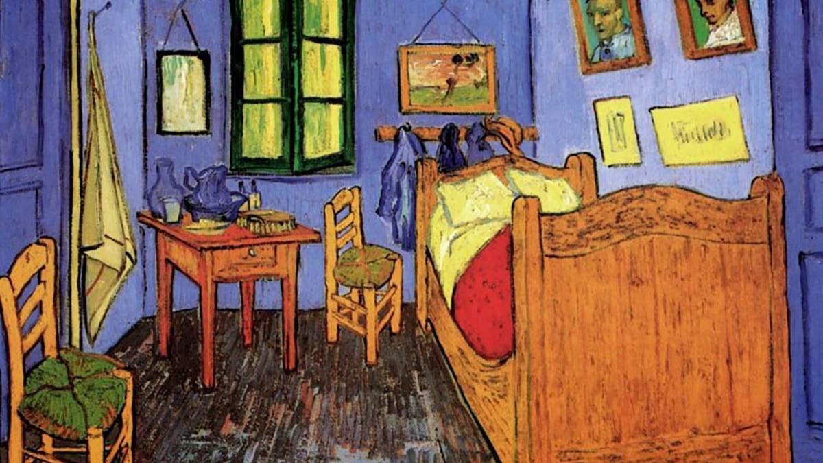 """Вінсент Ван Гог """"Спальня в Арлі"""""""