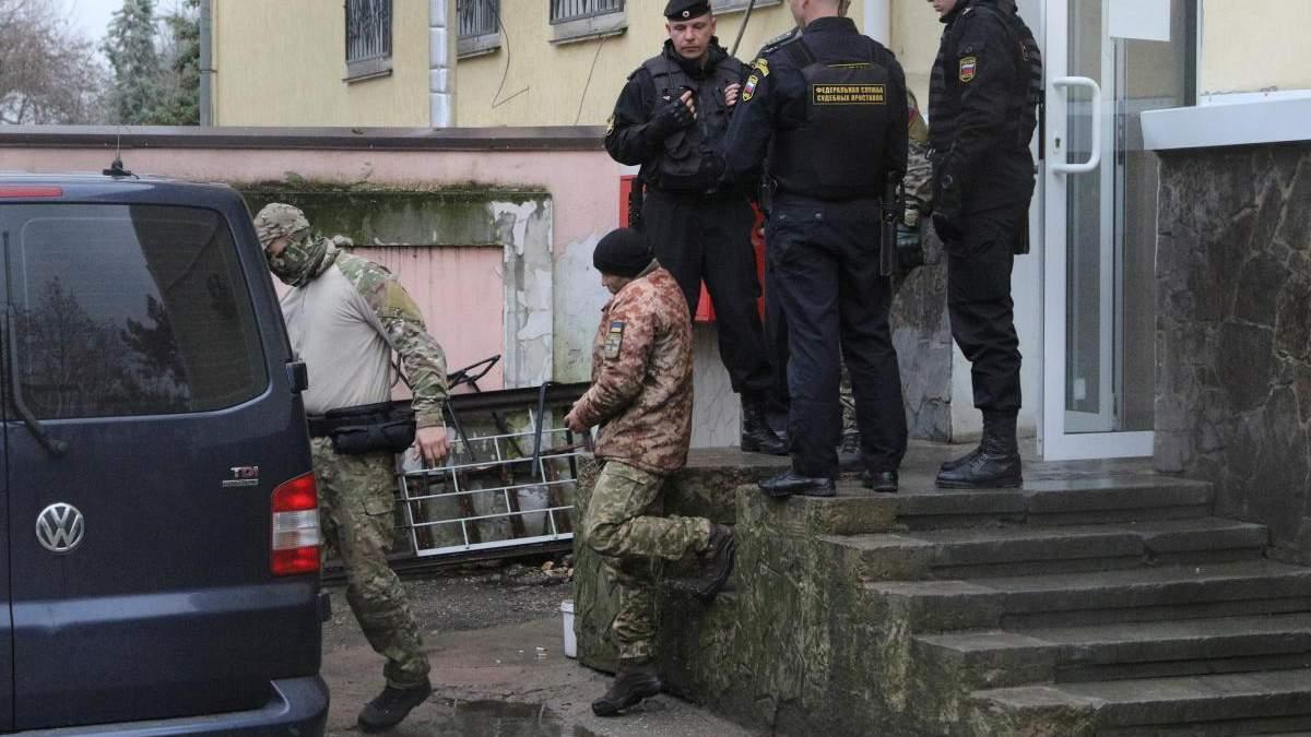 Судилище в Москві: українських моряків залишили під вартою, усі апеляції відхилили