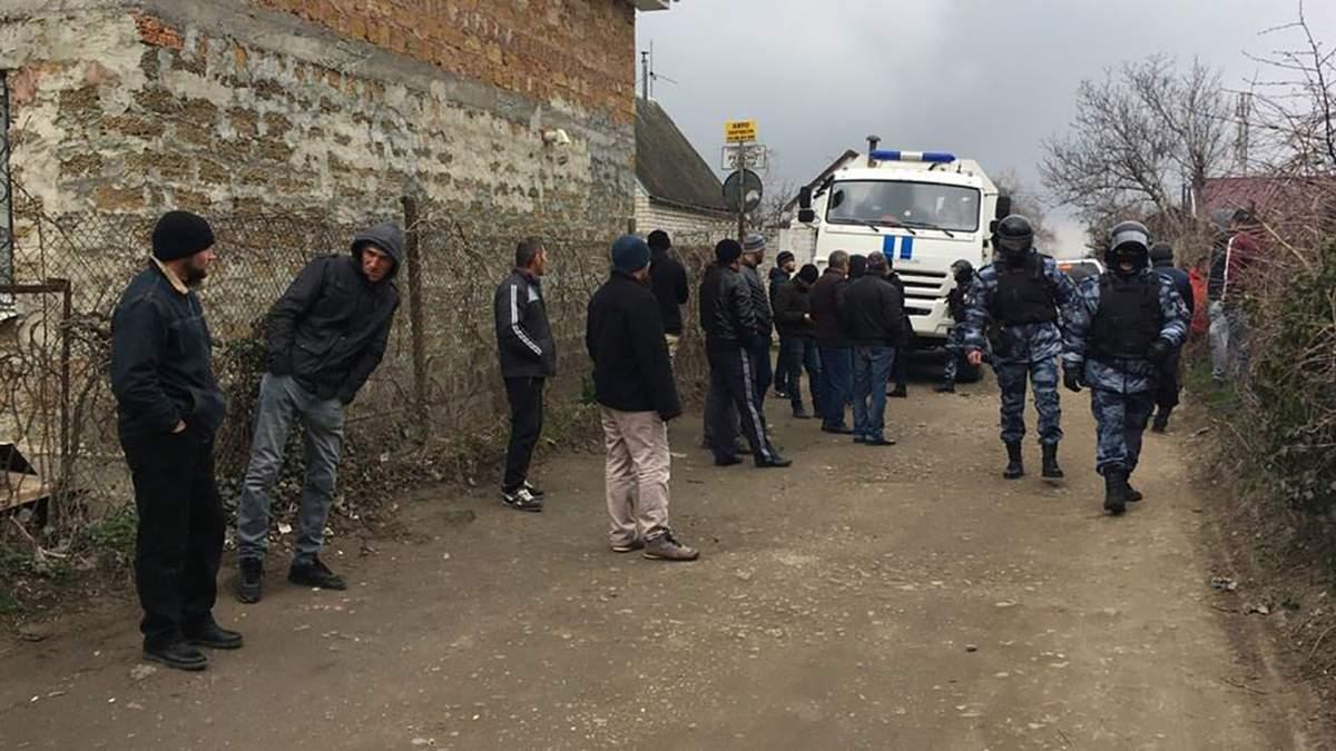 Россия арестовала девятерых крымских татар