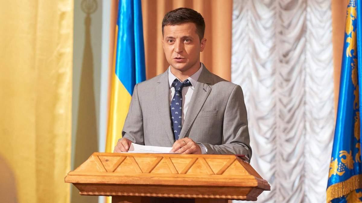 Вибори України 2019 - реакція Зеленського на результати екзит-полу