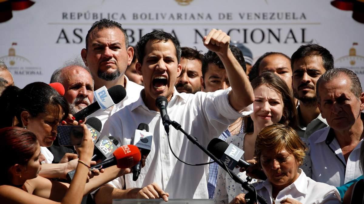 Хуйан Гуайдо – лідер опозиції у Венесуелі
