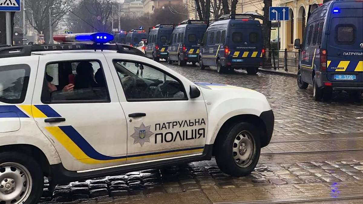 Порошенко у Львові 28 березня 2019 - великі затори та спецназ