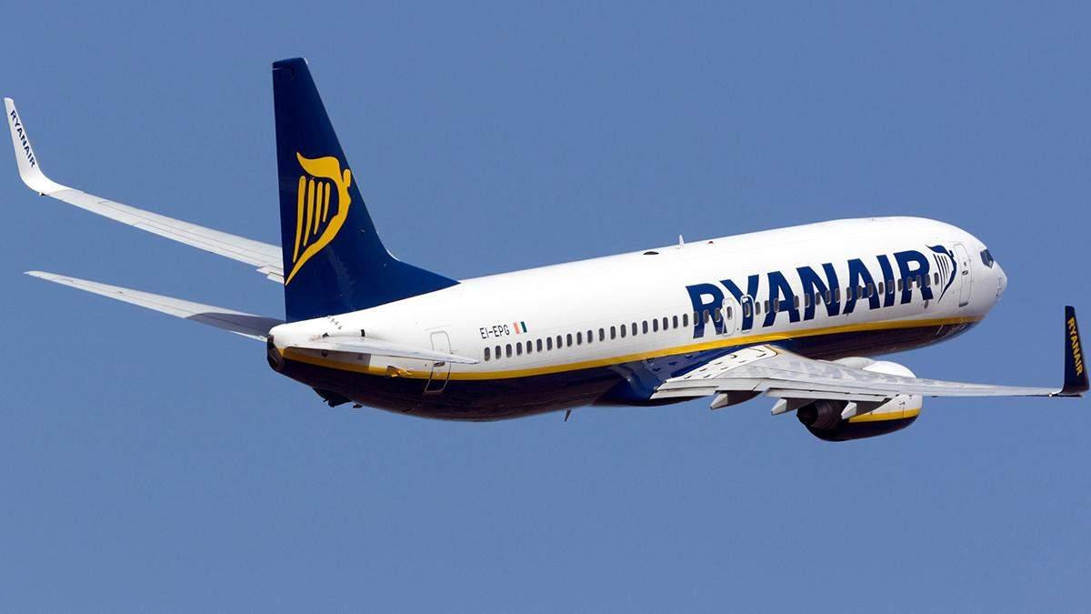 Ryanair почне літати з Києва до Мадрида раніше