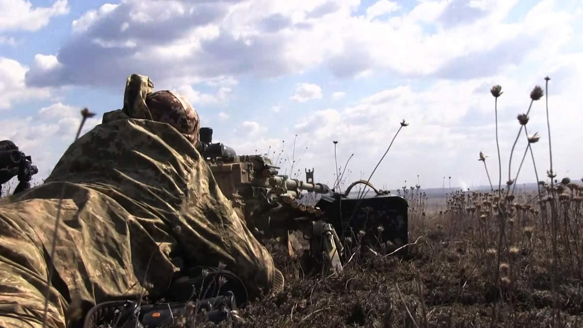 Українські захисники дали гідну відсіч ворогу на Луганщині: відео бою