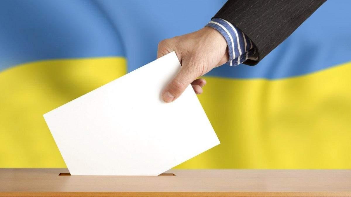 Як голосують в областях