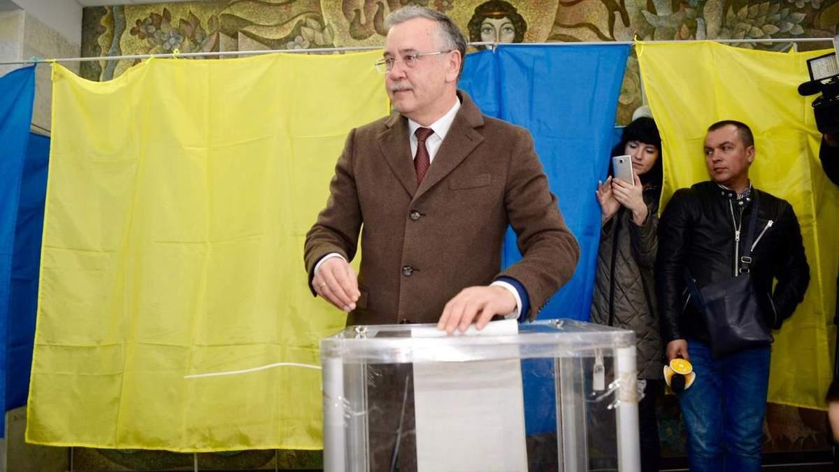 Я проголосовал за Украину без мародеров, в безопасности и благосостоянии, – Гриценко