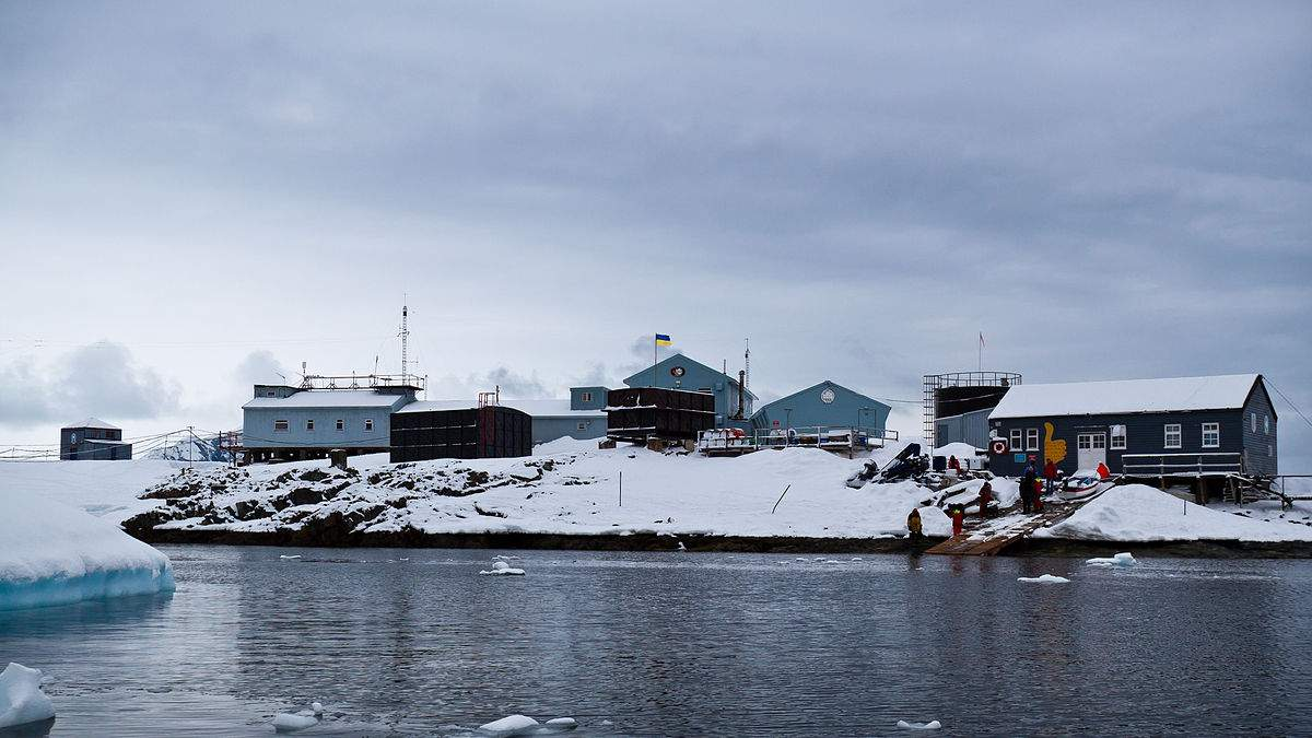 В Антарктиде украинцы закончили голосовать за нового президента