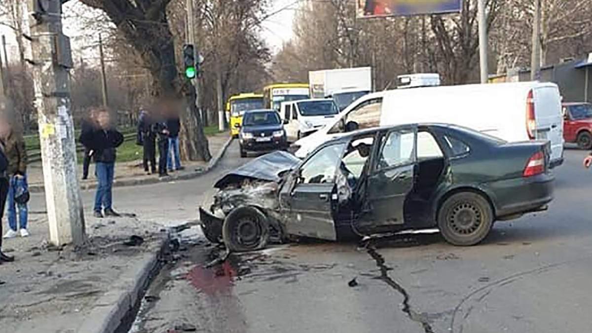 Смертельна ДТП з нацгвардійцями в Одесі